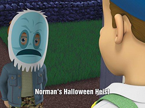 Normans Halloween Heist