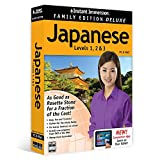 Instant Immersion Family Edition Deluxe Japanese Levels 1 2 3 PC/Mac/Tablet 81123 Learn to speak Japanese Study Language