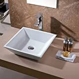 luxier cs 006 bathroom porcelain ceramic vessel vanity sink art basin