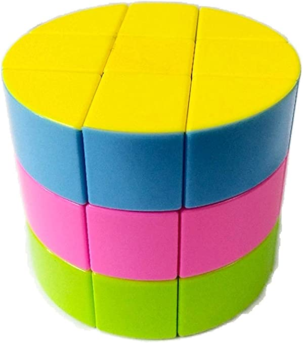 RVM Ultra Smooth 3x3 Circle Round Shape Magic High Speed Stickerless Rubik Cube