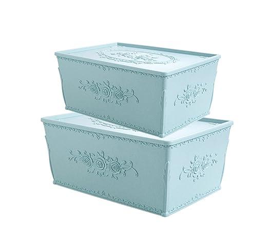 C-Bin-1 Caja de almacenamiento cosmética, con la caja tallada de ...