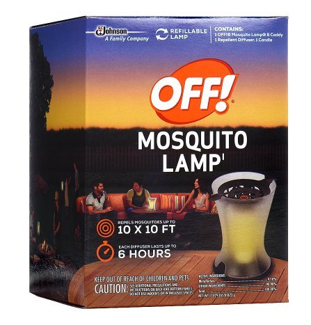 - Off! Mosquito Lamp Starter Unscented 0.29 oz.