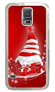 Samsung Galaxy S5 Happy christmas holidays PC Custom Samsung Galaxy S5 Case Cover Transparent