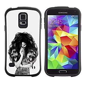 Suave TPU GEL Carcasa Funda Silicona Blando Estuche Caso de protección (para) Samsung Galaxy S5 / CECELL Phone case / / Wash cut blow /