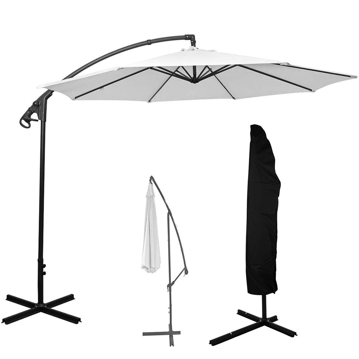 Yudanny Oxford Waterproof Cantilever Parasol Umbrella Cover Garden Patio Furniture Case Ship from UK