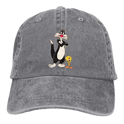 Monicame Unisex Hats Sylvester Cat And Tweety Bird Leisure Casquette -
