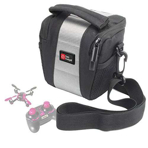 DURAGADGET Shock-Absorbing Water-Resistant Drone Case in Cross-Body / Shoulder Bag Style for the UDI U839 Quadcopter