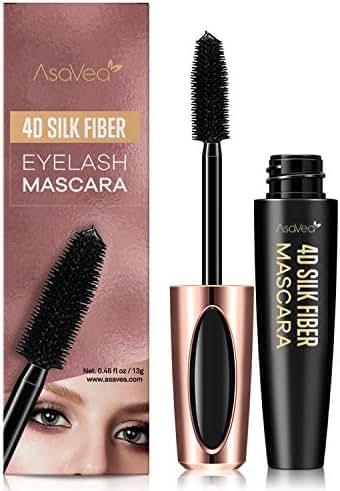 Mascara & Lashes: AsaVea 4D Silk Fiber Lash Mascara