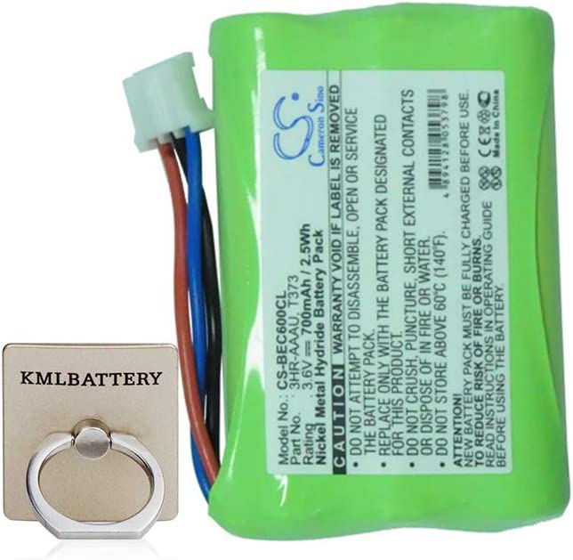 Replacement Battery for Bang & Olufsen 3HR-AAAU 70AAAH3BMXZ T373, BeoCom 6000