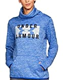 Under Armour Women's Storm Armour Fleece Funnel-Neck Logo Top Lapis Blue White XXS