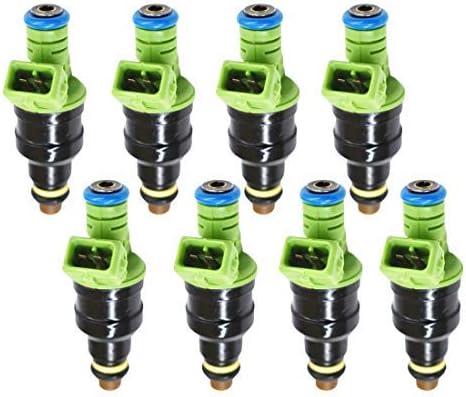 WFLNHB 0280150558 842lb 440cc EV1 Fuel Injectors fit for GM LT1 LS1 LS6 Ford Mustang SOHC DOHC