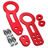 tow hook accord - Fastwayracer TH-FR-RD-A, Honda Civic/crx/del Sol/prelude/accord All Model JDM FWR Red CNC Aluminum Towing Front and Rear Tow Hook