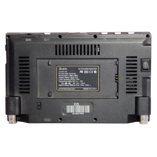 Ikan D5-SU 5.6 inch 3G-SDI LCD Monitor w/ Hi-Def Panel (Factory Refurbished)