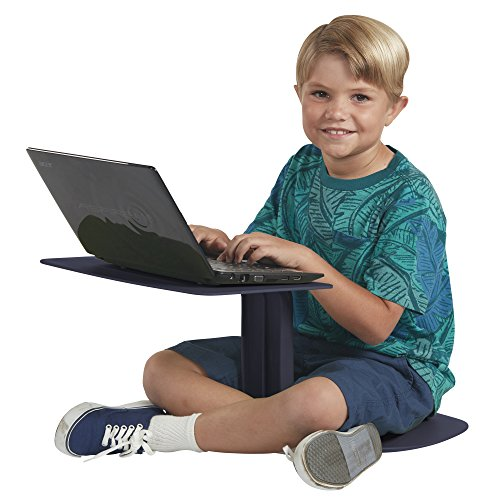 ECR4Kids The Surf Portable Lap Desk/Laptop Stand/Writing Table, Navy