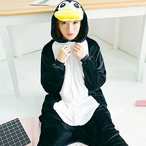 One Costume Unisex Adult Inverno Cwj Piece Pinguino Pigiami Animale Ispessimento Peluche Cosplay 4nIgqxxRw0