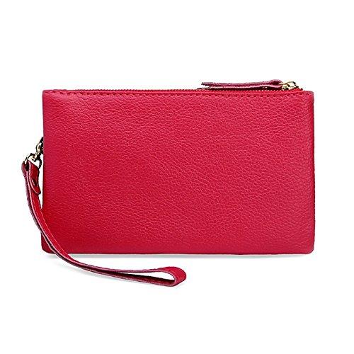 Case Leather Pink Handbag Pink Hot Ladies Wallet Women Bag Tote Hot Crossbody JAGENIE Messenger Shoulder Fgwqzq0U