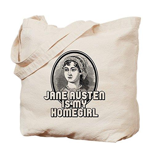 Canvas Natural Bag Shopping Tote CafePress Austen Jane Bag Cloth ABwqSZxt