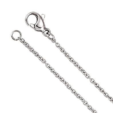 Amazon.com: Cadena de Cable de 1,5 mm clásico collar en ...