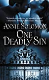 One Deadly Sin by Annie Solomon front cover