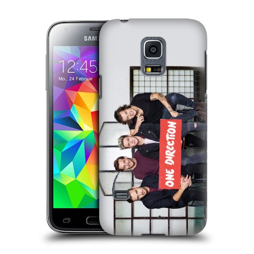 Official One Direction 1D GP4 Group Photos Hard Back Case Cover for Samsung Galaxy S5 mini G800F Duos G800H (One Direction S5 Cover compare prices)