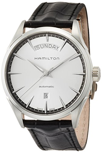 Hamilton Men's H42565751 Automatic Silver Dial Stainless Steel Leather Watch