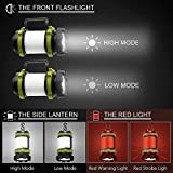 Wsky LED Camping Lantern Rechargeable Light