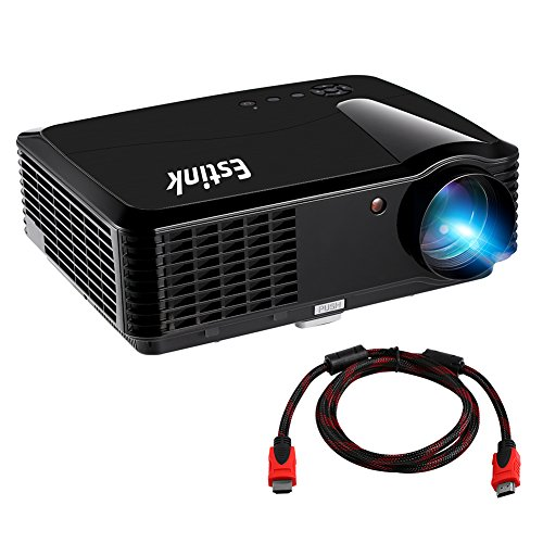 Best price portable video projector full hd home movie for Best portable projector