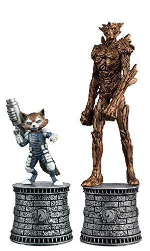 Marvel Chess Figurine Collection Magazine Special #2: Rocket Raccoon and Groot