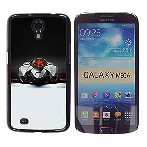 TECHCASE**Cubierta de la caja de protección la piel dura para el ** Samsung Galaxy Mega 6.3 I9200 SGH-i527 ** Italian Supercar