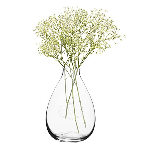 Cathy's Concepts Personalized Glass Vase, Clear