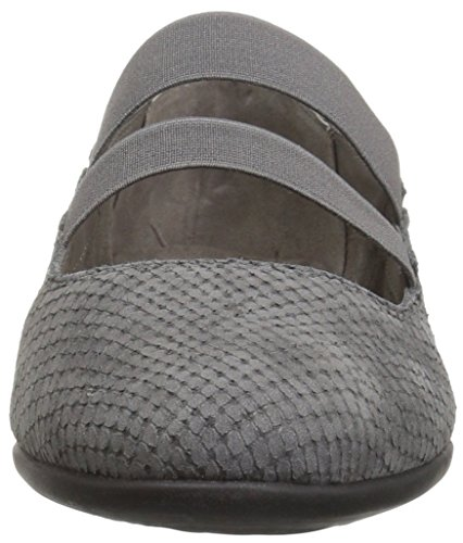 Aerosoles Women's Trend Lab Mary Jane Flat Grey Snake pDpqmAHgc
