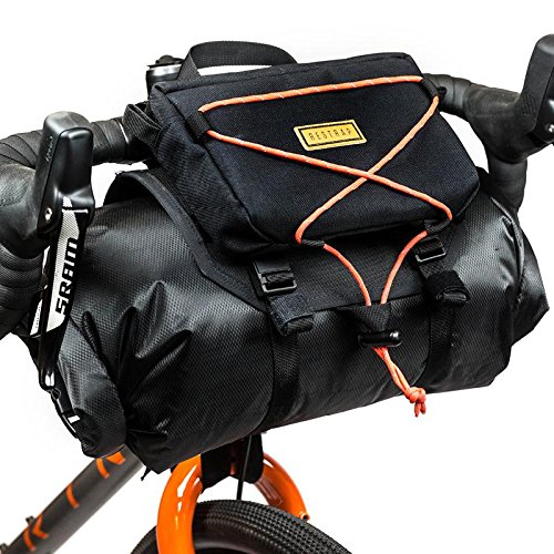 Amazon.com : Restrap Bar Bag Holster + Dry Bag + Food Bag ...