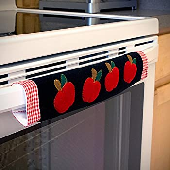 Amazon.com: Kitchen Appliance Handle Covers with Apple