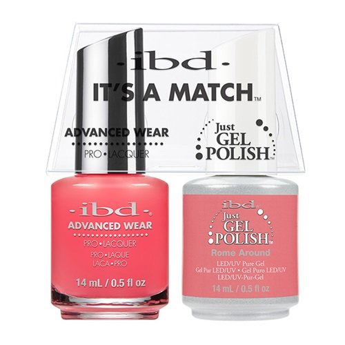 ibd Advanced Wear Color Duo Rome Around #485 UV Gel Color