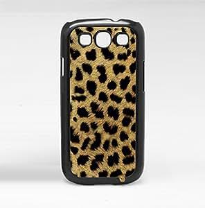 Furry Cheetah Print Hard Snap on Phone Case (Galaxy s3 III)