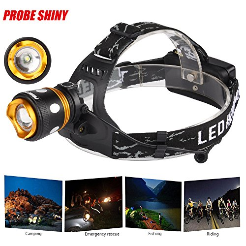 XM-L T6 LED Rechargeable Headlamp Headlight 1000LM Zoomable - 3