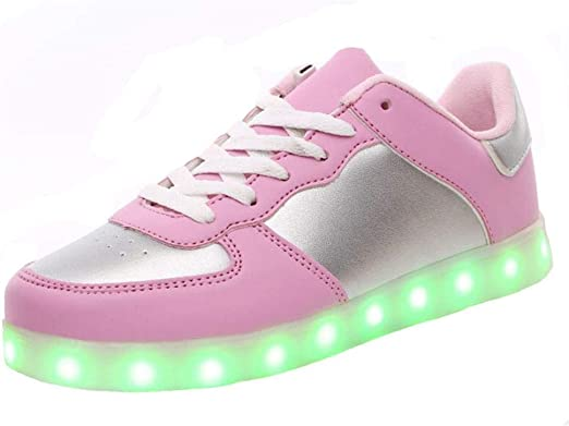 Burgess Josh USB rechargeable light shoes flash sneakers for