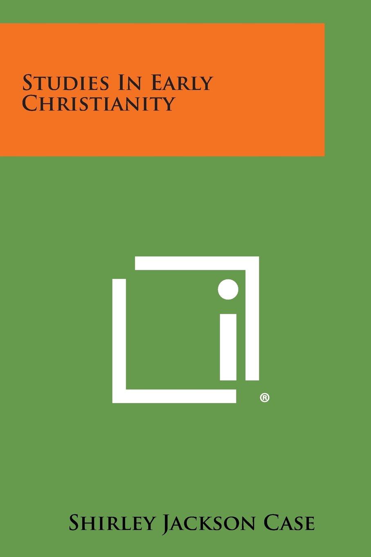 Studies in Early Christianity pdf epub