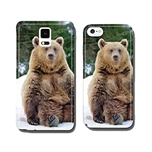 Bear in winter cell phone cover case iPhone6 Plus