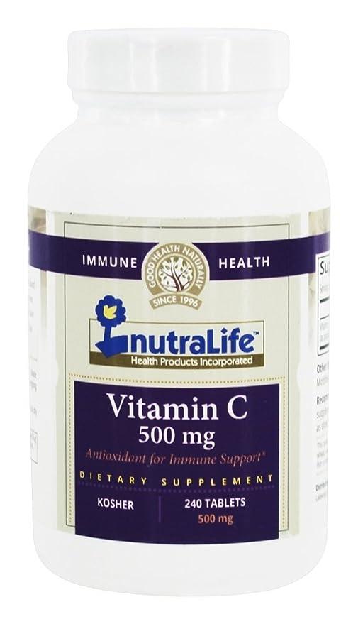 Nutralife - Magnesio 500 de la vitamina C. - 240 tabletas