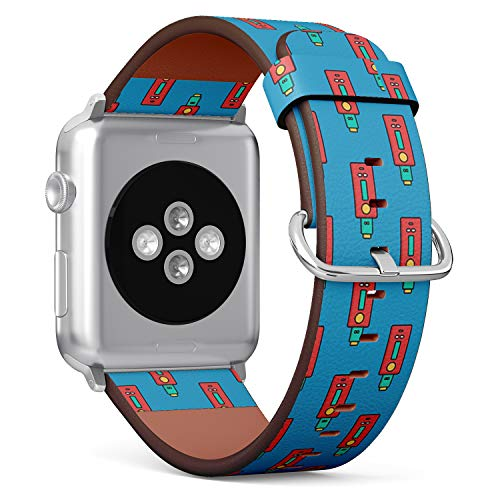Compatible with Apple Watch 42/44mm (Big) - Replacement Accessory Leather Band Strap Bracelet Wristbands with Adapters (Vaporizer Electric Cigarette - Vaporizer Replacement Cigarette