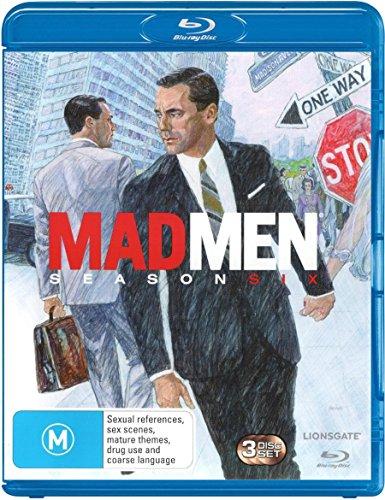 Mad Men Season 6   3 Discs   NON-USA Format   Region B Import - Australia