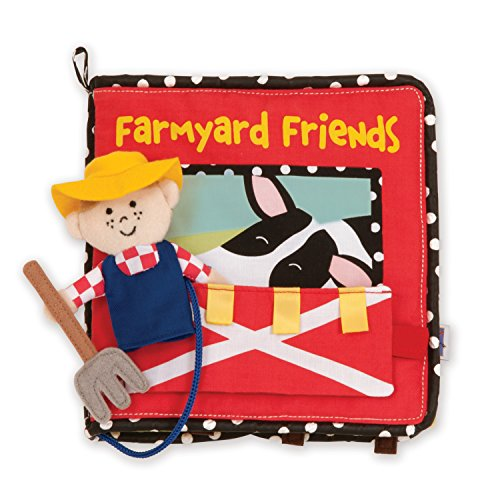Manhattan Toy Farmyard Friends Soft Activity Book by Manhattan Toy