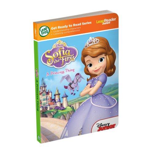LeapFrog LeapReader Junior Book: Disney Sofia the First: A Princess Thing ()