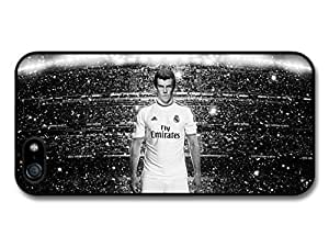 Gareth Bale Black White Real Madrid CF Football case for iPhone 5 5S A162