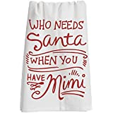 """Primitives by Kathy LOL Made You Smile Dish Towel, 28"""" x 28"""", Have Mimi"""