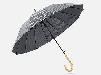 Paraguas con mango largo Paraguas simple lluvia paraguas y lluvia doble paraguas largo mango mujer estudiante
