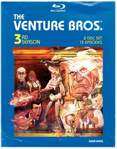 The Venture Bros: 3rd Season (Subtitled, Dolby, AC-3, Digipack Packaging, Widescreen)