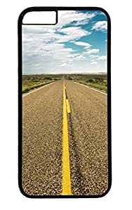 Amrican Dreams of Freedom Road PC Black Case for Masterpiece Limited Design iphone 6 by Cases & Mousepads