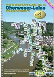 TourenAtlas Wasserwandern / TA4 Oberweser - Leine: Quell-und nebenflüsse der Weser südl. des Mittellandkanales einschl. Leine + Oker